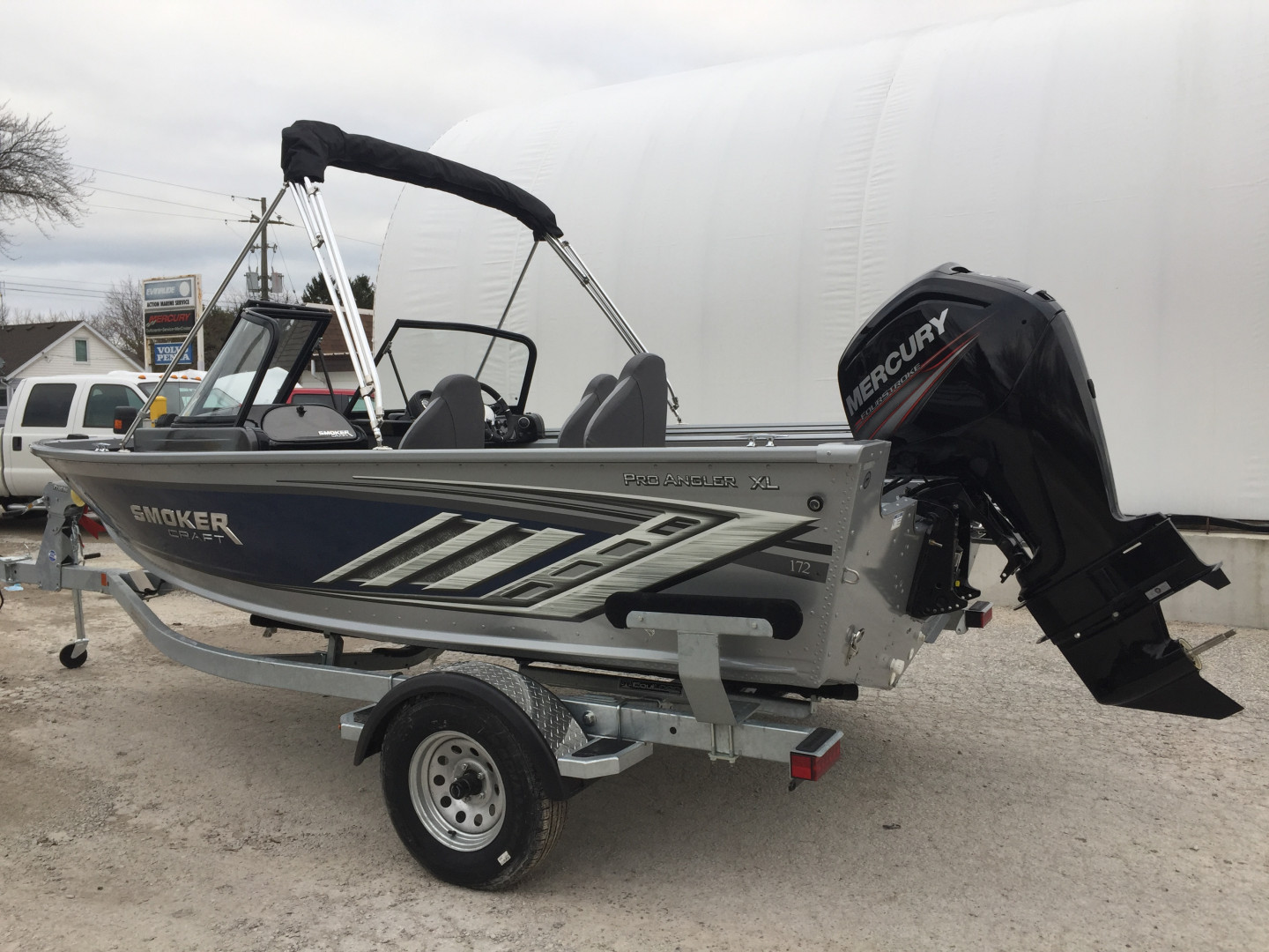 SOLD  2021 172 PRO ANGLER XL
